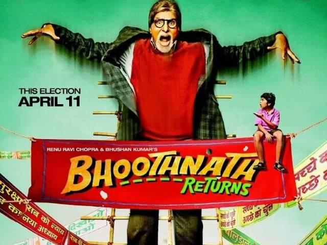 No breather for Amitabh after 'Bhoothnath Returns'