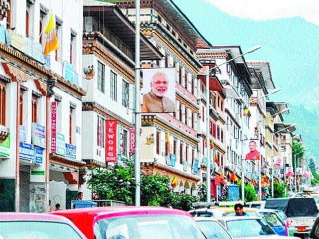 Rupee crunch awaits Modi in Bhutan