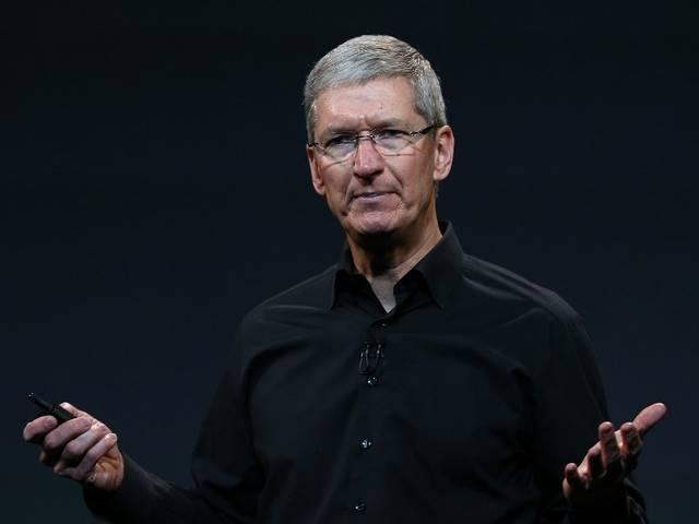 TV anchor accidentally 'outs' Apple CEO Tim Cook as gay