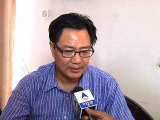 Kiren Rijiju's chopper makes emergency landing at Hindon