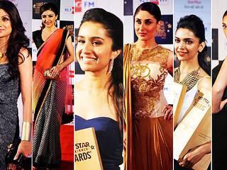 अवार्ड समारोह में पहुंचे बिग बी, करीना, दीपिका, शिल्पा और सोनाक्षी सहित तमाम बॉलीवुड सितारे