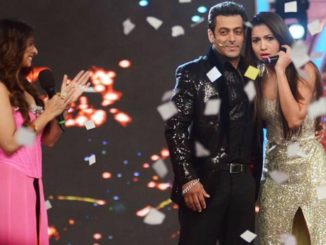बिग बॉस 7 की विजेता बनीं गौहर खान…