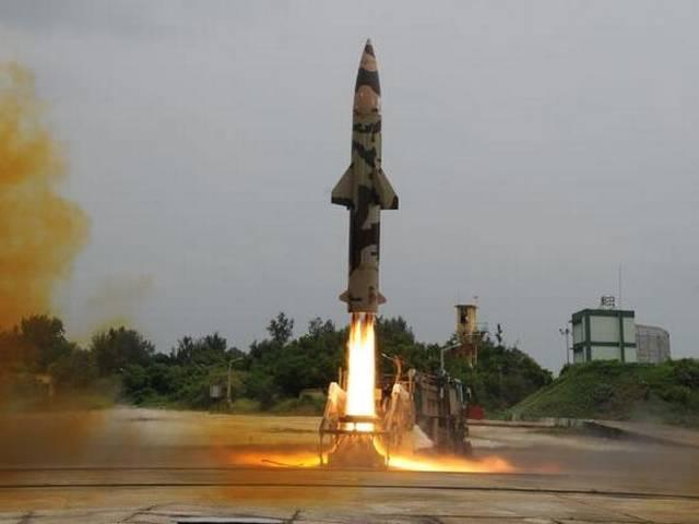 पृथ्वी-2 मिसाइल का सफलतापूर्वक परीक्षण