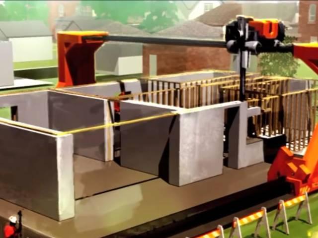 केवल 24 घंटे में 2500 वर्ग फुट का घर बना देगा 3D प्रिंटर