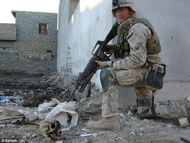 इराक पर अमेरिकी जोर-जुल्म की खौफनाक तस्वीरें