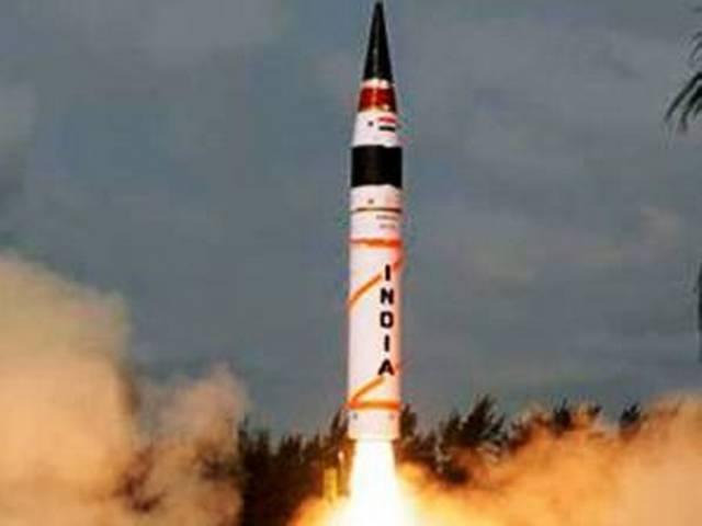 भारत ने अग्नि-4 का परीक्षण किया