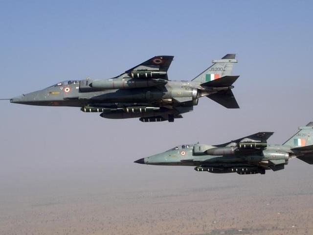 भारतीय वायुसेना का जगुआर विमान दुर्घटनाग्रस्त, दोनों पायलट सुरक्षित