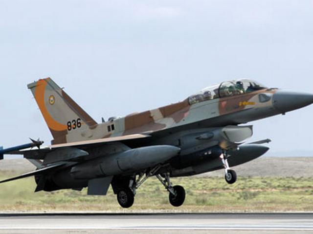 इस्राइली जेट ने गाजा पर हमले किया