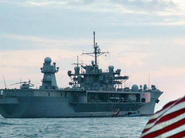 ओलंपिक शुरू होने से पहले काले सागर के लिए रवाना हुआ अमेरिकी युद्धपोत