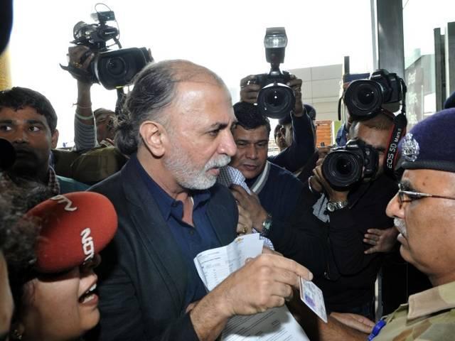 तेजपाल को नहीं मिली राहत, 14 दिन तक बढ़ी न्यायिक हिरासत