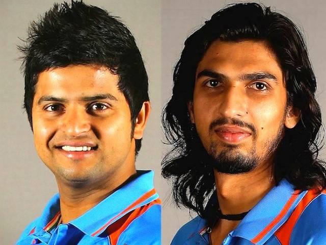 इशांत एशिया कप और विश्व टी20 टीम से बाहर, रैना का वनडे से पत्ता कटा