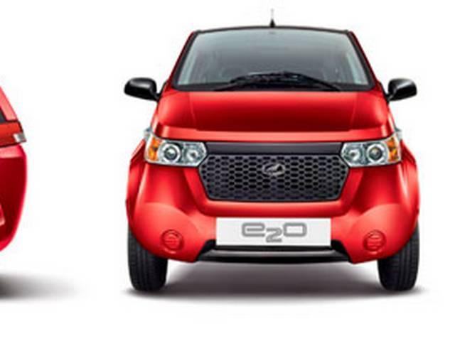 महेंद्रा की अनोखी फ्यूचर इलेक्ट्रिक कार 'रीवा ई-20'