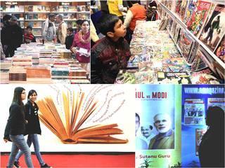 'दिल्ली में लगा किताबों का मेला'