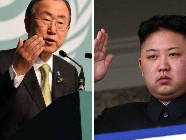 नार्थ कोरिया में हत्या, कैद, रेप, जबरन गर्भपात जैसी जघन्य मानवाधिकार उल्लंघन की घटनएं हो रही हैं: बान की मून