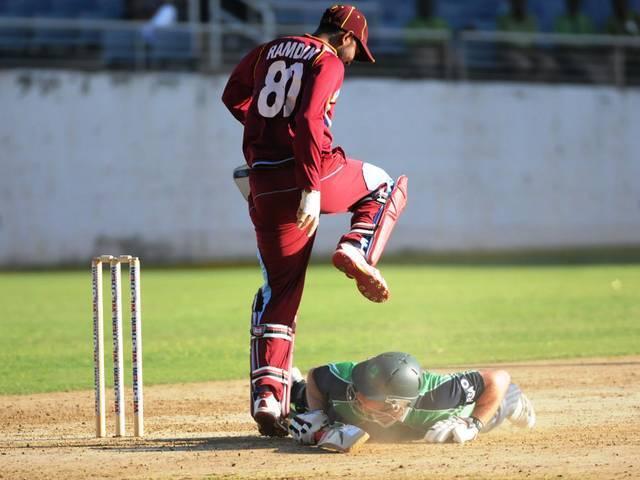 दूसरे ट्वेंटी20 मैच में वेस्टइंडीज ने आयरलैंड को 11 रन से हराया