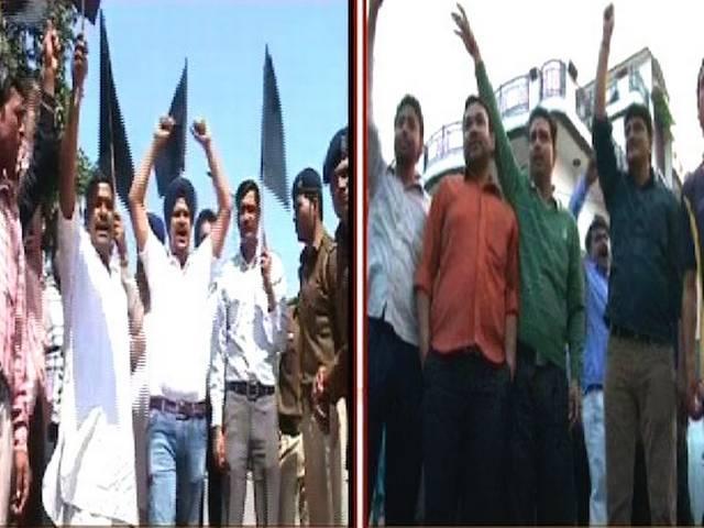 गाजियाबाद से वीके सिंह बीजेपी के उम्मीदवार, कार्यकर्ताओं ने किया विरोध