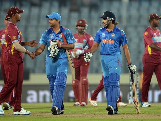टी-20 वर्ल्ड कपः पाक के बाद वेस्टइंडीज भी टीम इंडिया के आगे चित