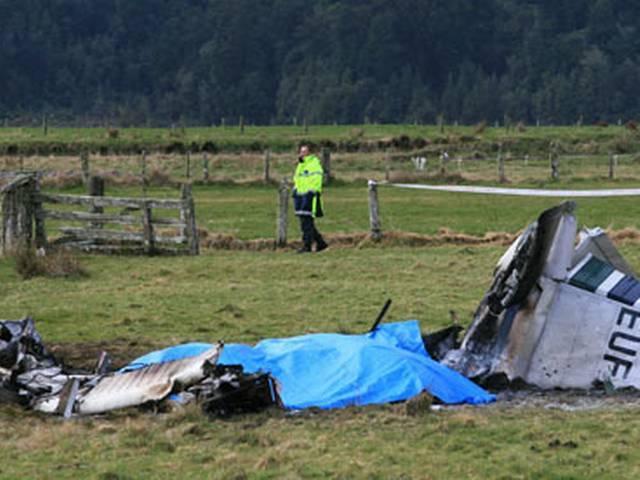 न्यूजीलैंड में प्लेन क्रैश होने से दो लोगों की मौत