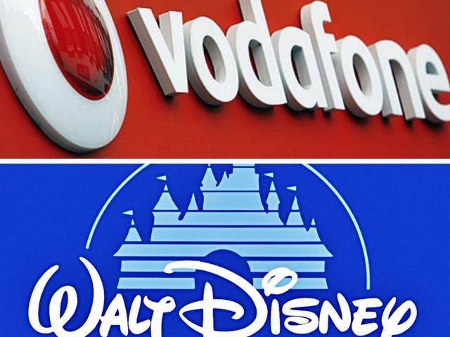 वोडाफोन ने भारत में गेम्स, एप्स पेश करने के लिए डिज्नी से करार किया