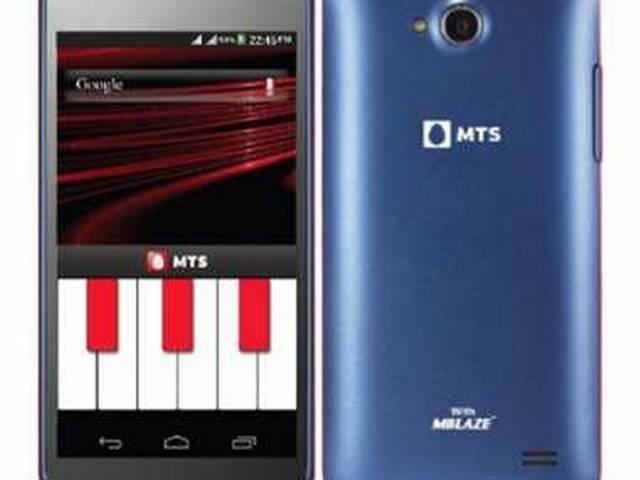 MTS का अनोखा डुएल-सिम स्मार्टफोन ब्लेज लांच