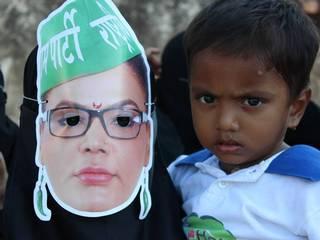 देखें: राखी सावंत का चुनावी प्रचार