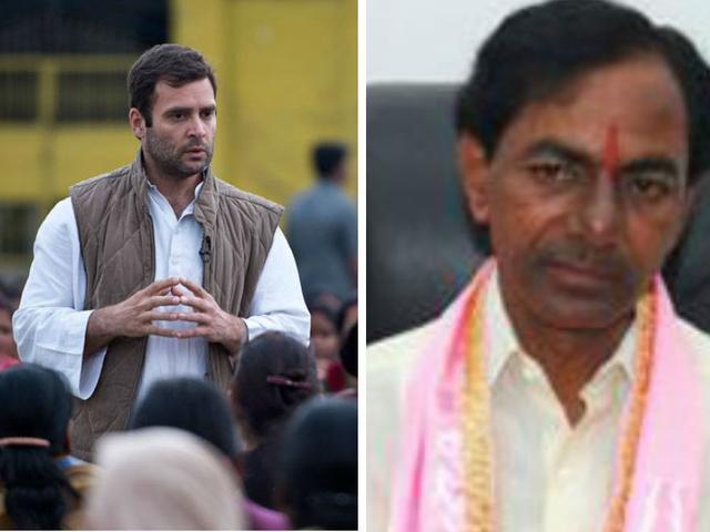 टीआरएस प्रमुख ने पहले गले लगाया फ़िर ''पीठ में छुरा घोंपा'': राहुल गांधी