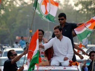 लखनऊ में राहुल गांधी का जनसंपर्क अभियान: देखें तस्वीरें