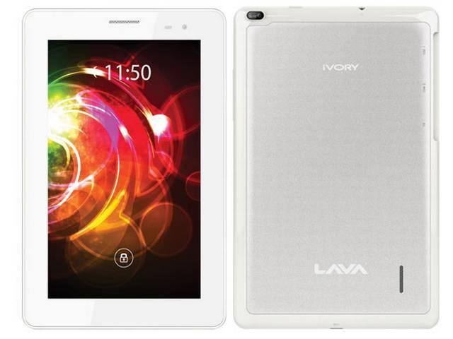 लावा ने 3जी टैबलेट पेश किया, कीमत 8,499 रुपये