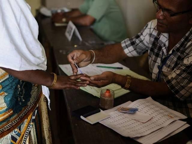 सातवें चरण में उत्तर प्रदेश में 59.06 प्रतिशत मतदान