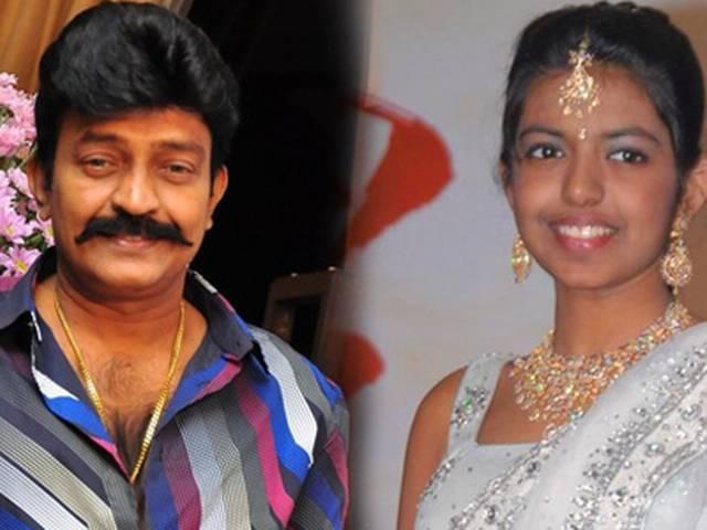 तेलुगू फिल्मों के एंग्री यंग मैन राजशेखर की बेटी फिल्मों में आने को तैयार