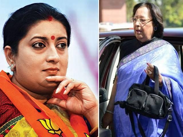 मोदी टीम: सबसे उम्रदराज और सबसे कम उम्र वाले.. दोनों ही महिलाएं