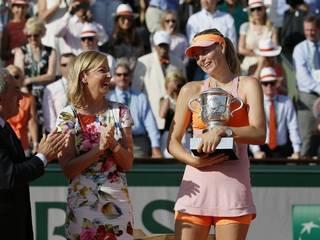 मारिया शारापोवा ने जीता फ्रेंच ओपन