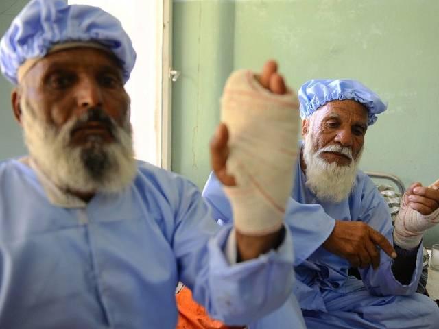 उंगली पर देखी स्याही तो काट दी 11 अफगान नागरिकों की उंगलियां