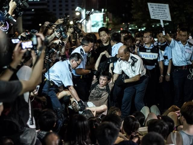 _Hong _Kong _China _democratic _protest _arrest