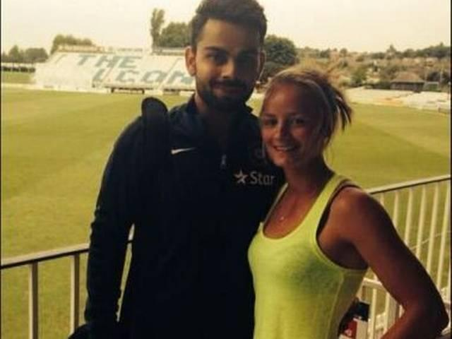 Virat Kohli_Danielle Wyatt_Team India_Derbyshire_