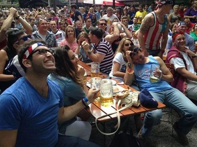 beer flows at World Cup arenas