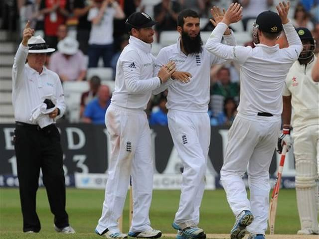 ind vs england first test 4th day