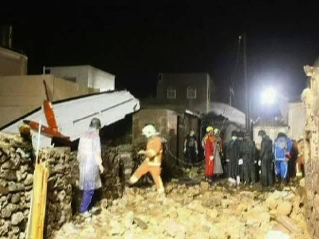 Plane crashes in Taiwan people killed