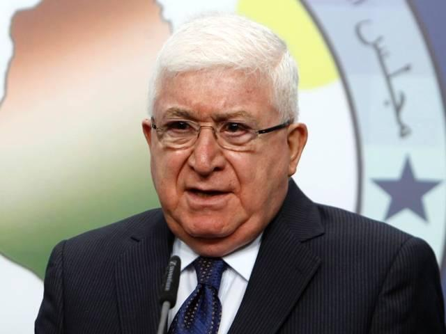 iraq_fuad masum_iraq president