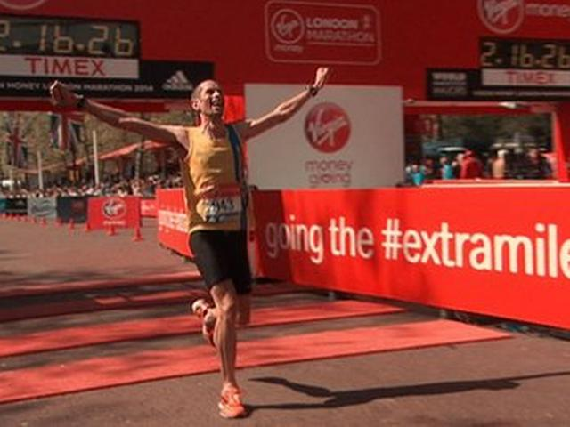 Steve Way, changed his lifestyle and will now represent England in the marathon at the Commonwealth Games.