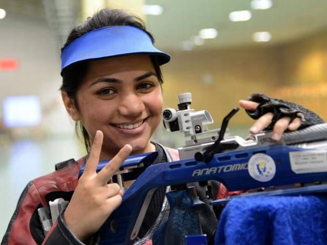 CWG_indian shooters_gold medal