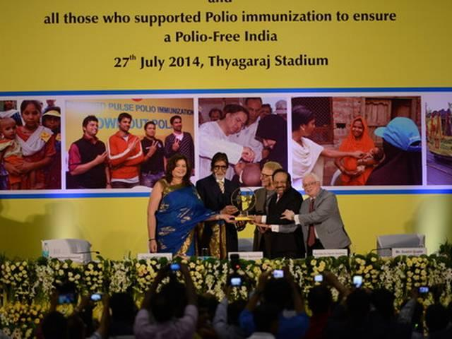 Open to join polio campaign for Pak children: Bachchan