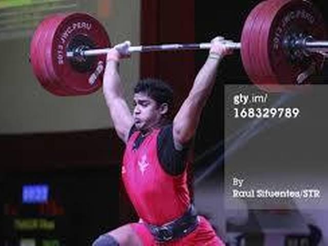 _Vikas _Thakur _wins _silver_in _weight _lifting _at _Glasgow _common _wealth _games _2014