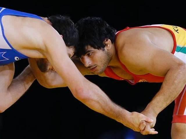 commonwealth games_wrestling_pawan kumar_Bronze medal_