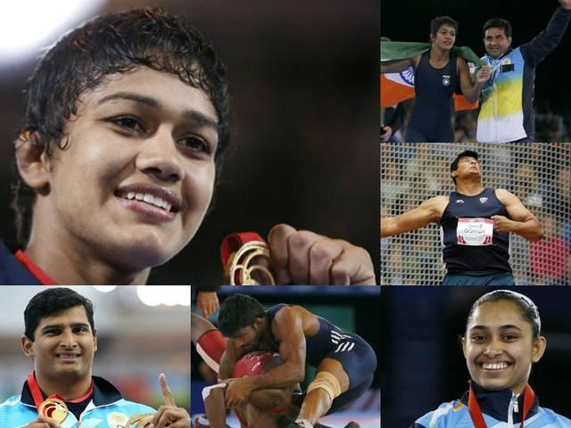 indian _plyares _won _medals _in _commanwealth