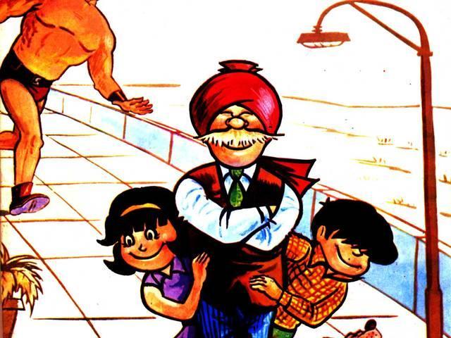 pran's cartoon characters