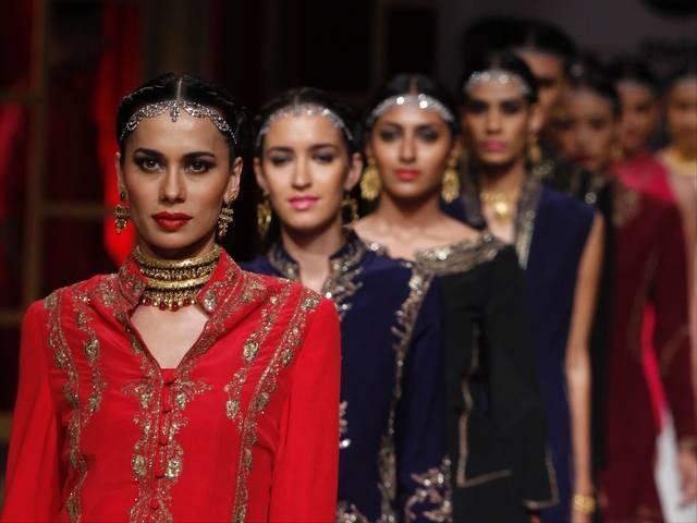 BMW bridal fashion week in Delhi