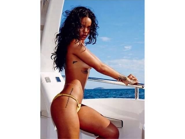 Rihanna gets her name patient