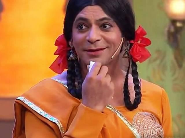 Sunil Grover is back as 'Gutthi' on 'Comedy Nights',