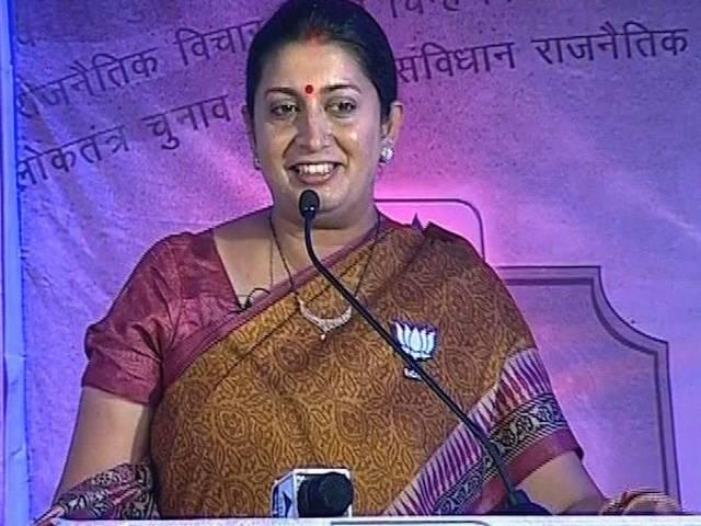 smriti irani_yale university_education minister
